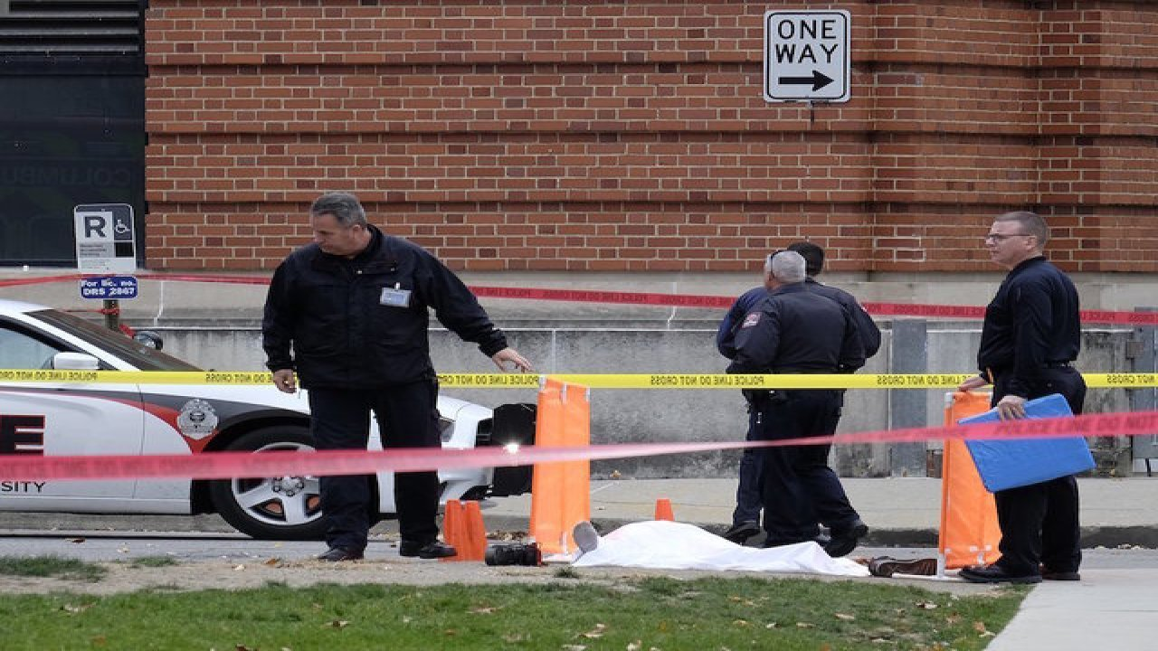 Ohio State suffers auto and knife attack.