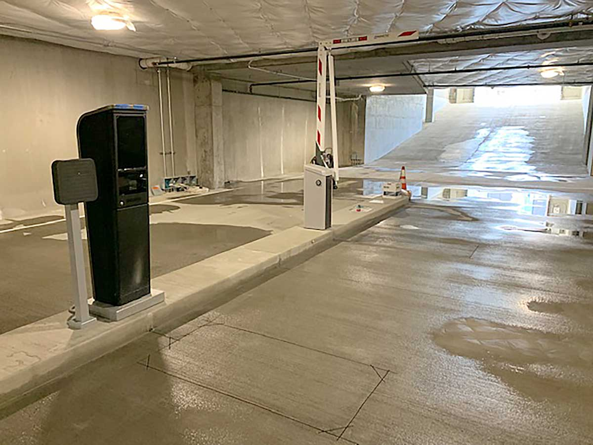 Seattle REI Parkonect Pay Parking System