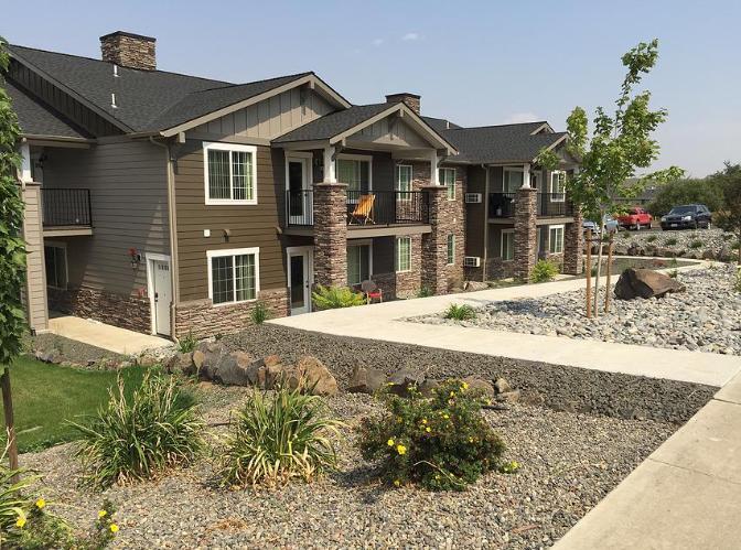 Dawson Hills Apartments Railing